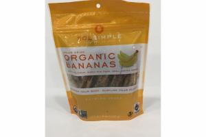 SOLAR DRIED ORGANIC BANANAS