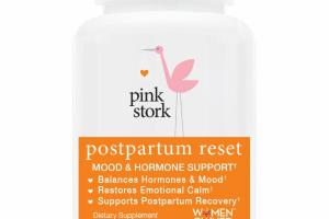 POSTPARTUM RESET MOOD & HORMONE SUPPORT DIETARY SUPPLEMENT VEGETARIAN CAPSULES