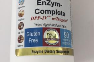 Enzym-complete Dpp-iv W/isogest Enzyme Dietary Supplement