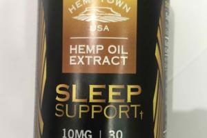 SLEEP SUPPORT 10MG FULL SPECTRUM PHYTO-CANNABINOIDS HEMP OIL EXTRACT DIETARY SUPPLEMENT