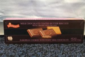 Milk Chocolate Coated Butter Biscuits
