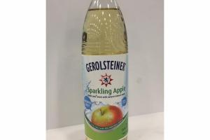 SPARKLING APPLE JUICE DRINK WITH NATURAL MINERAL WATER