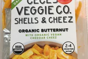 Organic Butternut Shells & Cheez