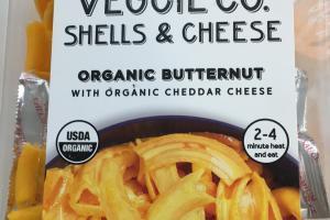 Organic Butternut Shells & Cheese