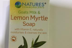 Goats Milk & Lemon Myrtle Soap