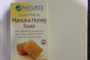 Goat Milk & Manuka Honey Soap
