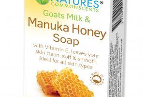 GOATS MILK & MANUKA HONEY SOAP
