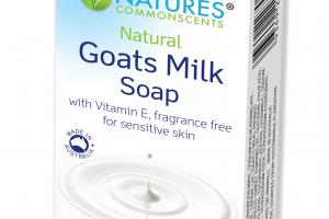NATURAL GOATS MILK SOAP