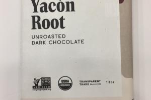 Unroasted Dark Chocolate