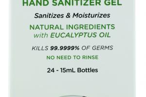 Antimicrobial Hand Sanitizer Gel