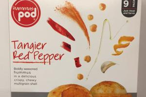 Tangier Red Pepper Hummus Pod