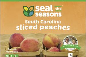 South Carolina Sliced Peaches