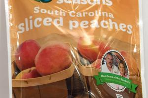 South Carolina Sliced Peaches