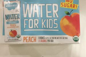 Water With A Dash Of Organic Peach