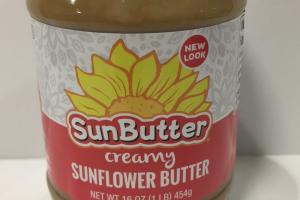 Creamy Sunflower Butter