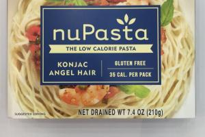 Konjac Angel Hair Low Calorie Pasta