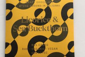 Licorice & Sea Buckthorn Chocolate