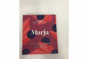 MARJA CRAFT CHOCOLATE TOPPED WITH WILD BERRIES