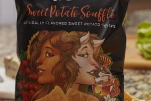 SWEET POTATO SOUFFLE CRISPS