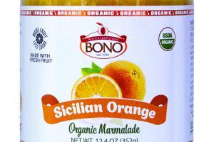 Organic Marmalade Sicilian Orange