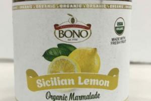 SICILIAN LEMON ORGANIC MARMALADE