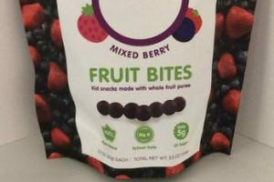 MIXED BERRY FRUIT BITES