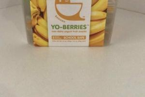 BANANA NON-DAIRY YOGURT FRUIT SNACKS