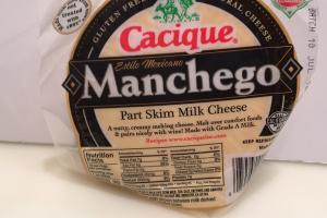 Manchego Part Skim Milk Cheese