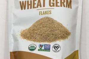 Organic Plant Protein Wheat Germ Flakes