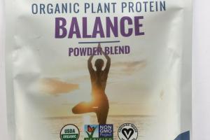 Organic Plant Protein Balance Powder Blend