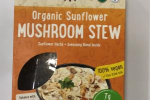 Organic Sunflower Mushroom Stew
