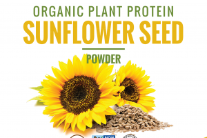 ORGANIC PLANT PROTEIN SUNFLOWER SEED POWDER