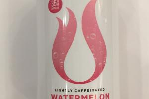 Lightly Caffeinated Watermelon Sparkling Water