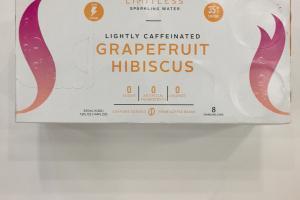 Grapefruit Hibiscus Sparkling Water