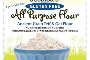Ancient Grain Teff & Oat Flour
