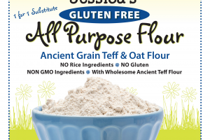 Ancient Grain Teff & Oat Flour