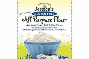 ALL PURPOSE ANCIENT GRAIN TEFF & OAT FLOUR