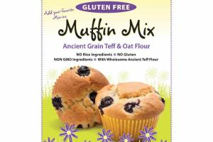 ANCIENT GRAIN TEFF & OAT FLOUR MUFFIN MIX