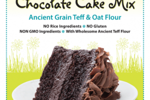 ANCIENT GRAIN TEFF & OAT FLOUR CHOCOLATE CAKE MIX