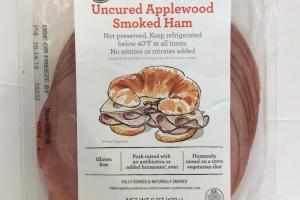 Uncured Applewood Smoked Ham