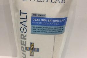 Supersalt Skin Repair Dead Sea Bathing Salt