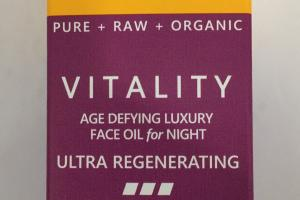 Vitality Age Defying Luxury Face Oil For Night, Neroli + Myrrh Frankincense