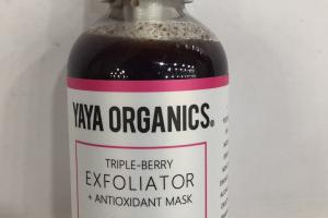 Triple-berry Exfoliator + Antioxidant Mask