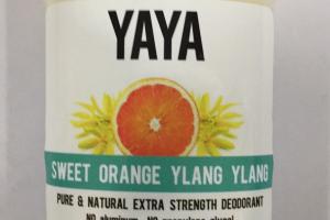 Pure & Natural Extra Strength Deodorant