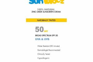 SUNBLOCZ ZINC OXIDE SUNSCREEN CREAM, BROAD SPECTRUM SPF 50