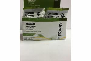 MATCHA GREEN TEA & LEMON SPORT ENERGY CHEWS