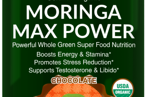 Chocolate Moringa Max Power Dietary Supplement
