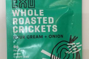 Whole Roasted Crickets