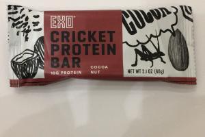 Cricket Protein Bar