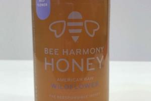 AMERICAN RAW WILDFLOWER BEE HARMONY HONEY